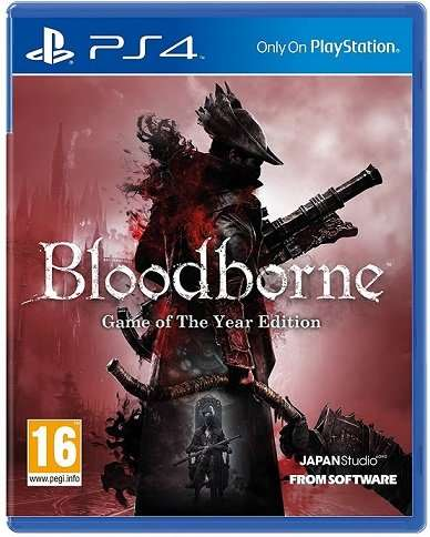 bloodborne game of the year edition boxart