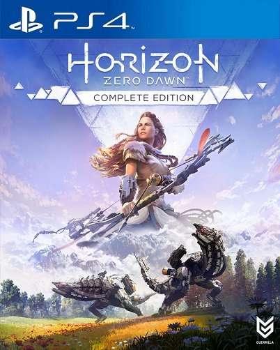 horizon zero dawn complete edition boxart