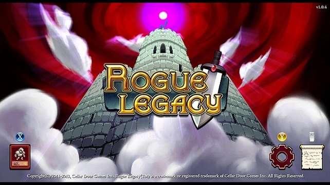 rogue legacy menu