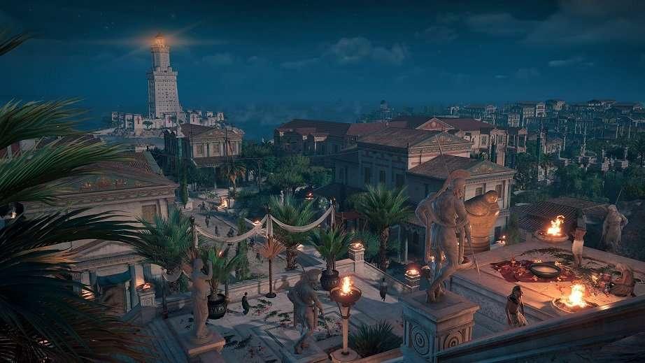 assassins creed origins night