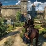 witcher 3 geralt on horse
