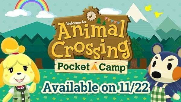 animal crossing pocket camp release