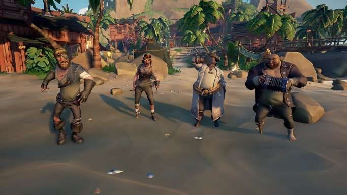sea of thieves cosmetic customization