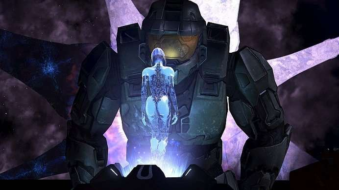 master chief and cortana halo 3
