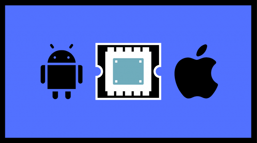 android and iphone cpu