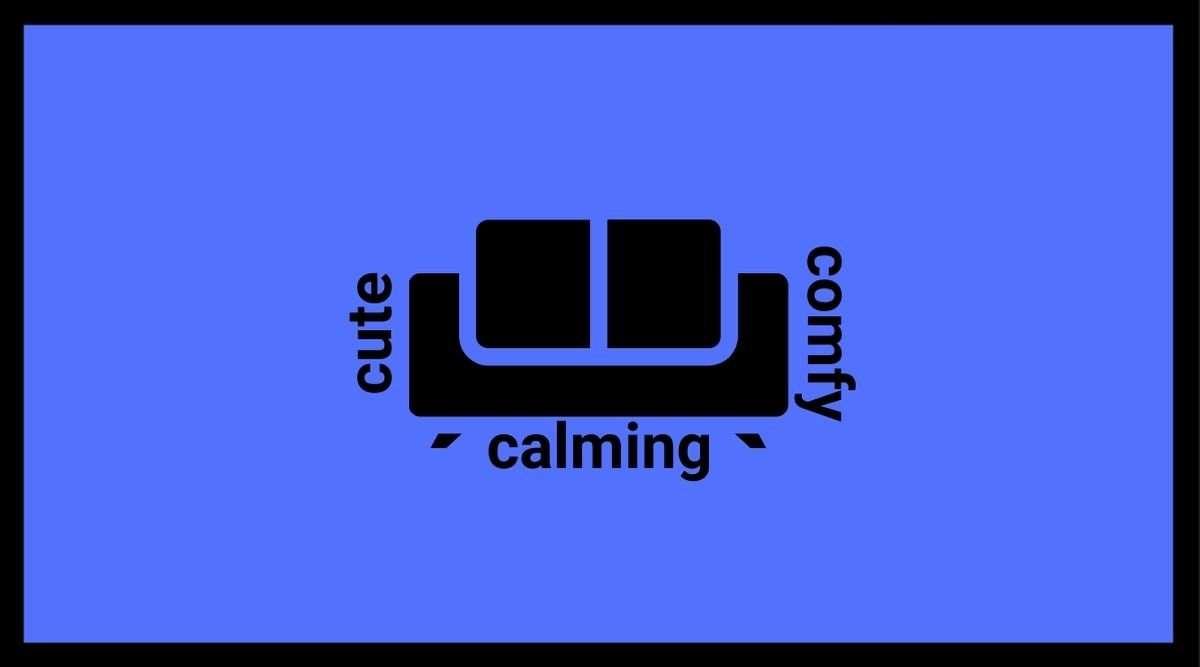 cute comfy calming
