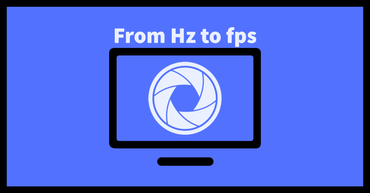 from hz to fps
