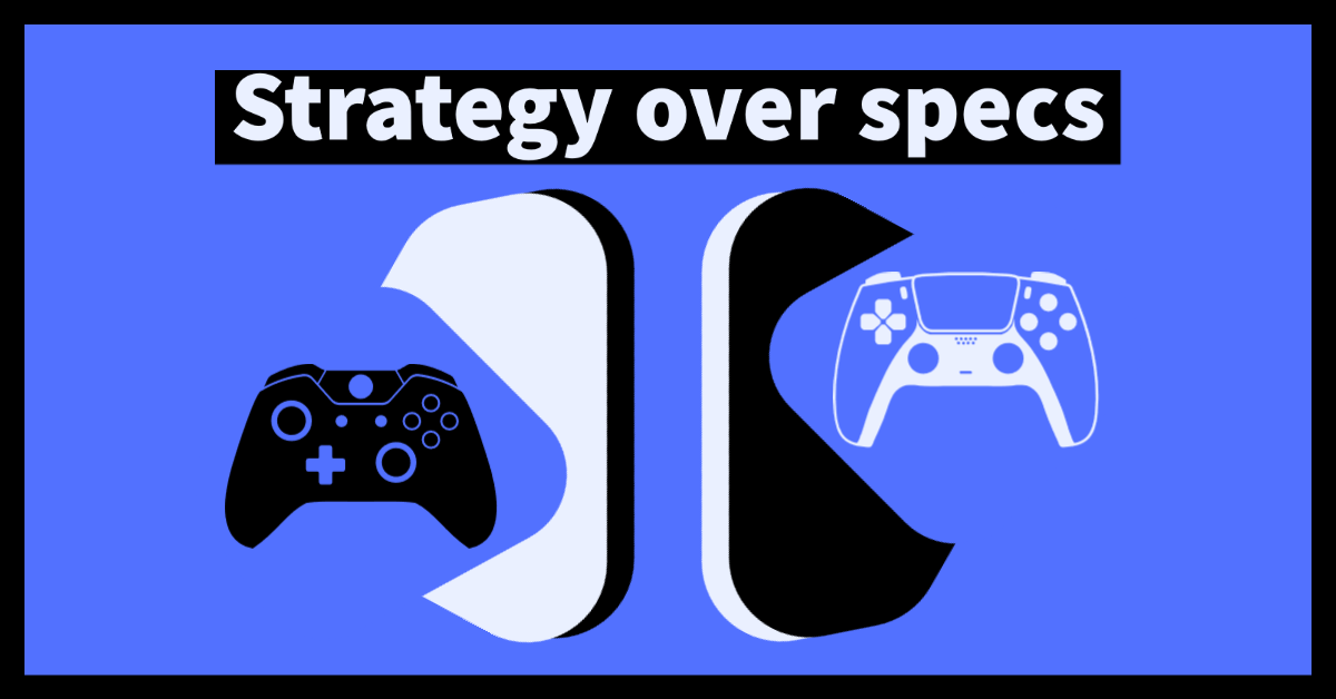 microsoft vs sony strategy over specs